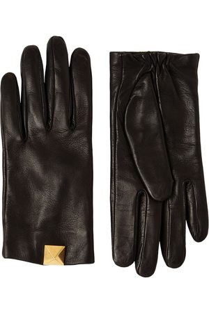 VALENTINO GARAVANI Macrostud Leather Gloves