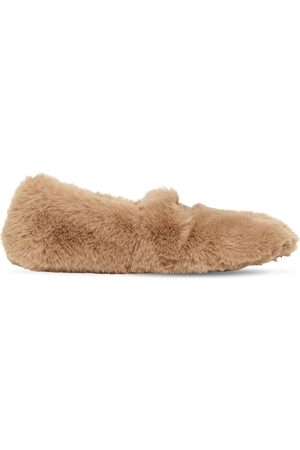 Gianvito Rossi 10mm Faux Shearling Loafers