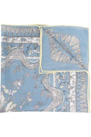 Emilio Pucci Women Scarves - Rugiada-print cashmere scarf