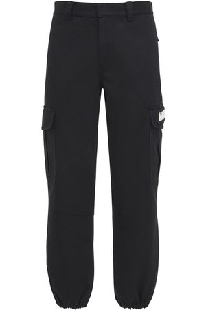 McQ In Dust Cotton Cargo Pants