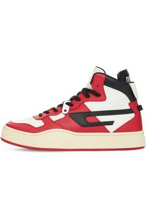 Diesel Ukiyo Leather High Top Sneakers