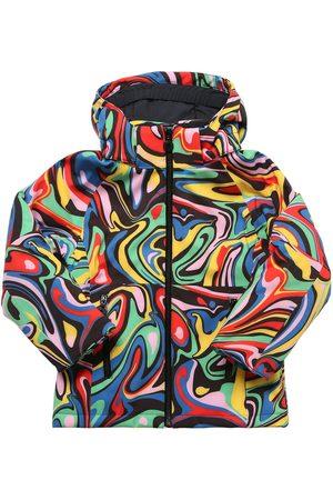 Stella McCartney Printed Hooded Nylon Puffer Ski Jacket