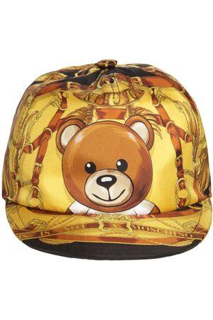 Moschino Teddy Scarf Silk Baseball Hat