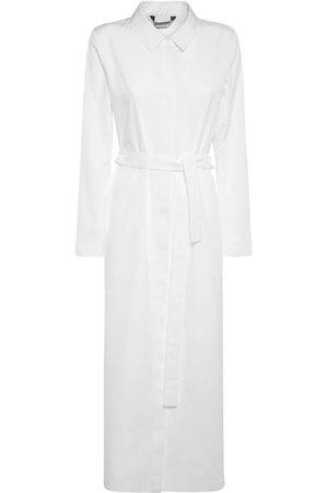 Max Mara Cotton Poplin Long Shirt Dress