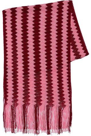 Missoni Women Scarves - Knit Wool & Viscose Fringed Scarf