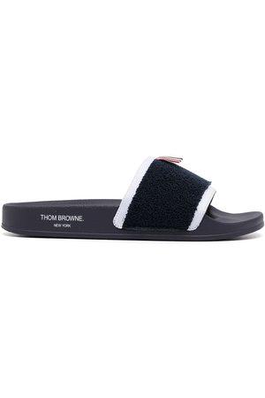 Thom Browne Men Sandals - RWB stripe slides