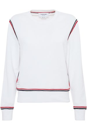Thom Browne Cotton Jersey Sweatshirt