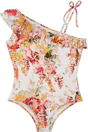 ZIMMERMANN Flower Print One Piece Swimsuit