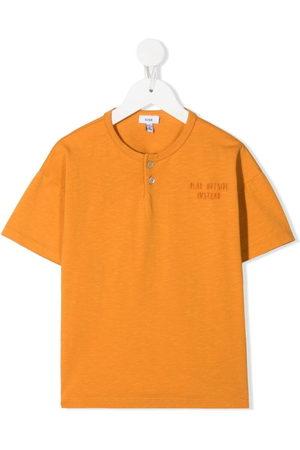 KNOT Boys Tops - Cotton henley top