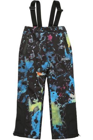 Diesel Printed Recycled Nylon Puffer Ski Pants