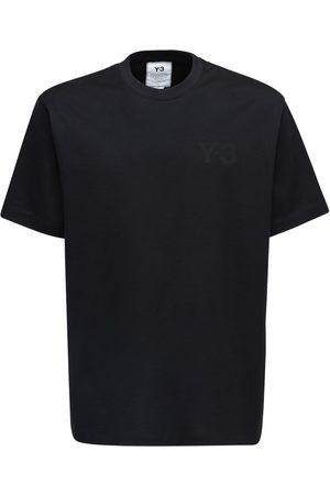 Y-3 Classic Logo Cotton Jersey T-shirt