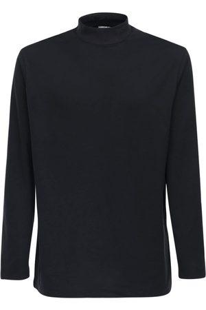 Y-3 Classic Logo L/s Cotton Jersey T-shirt