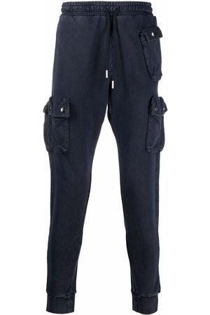 Diesel Men Cargo Pants - Slim fit cargo track trousers