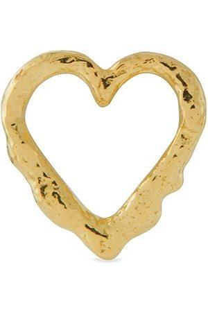 Alex Monroe Women Studs - 18kt yellow Teeny Tiny Heart stud single earring
