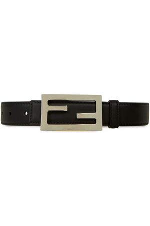 Fendi Logo plaque belt