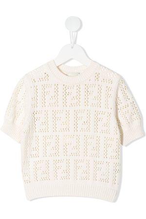 Fendi FF pattern pullover top