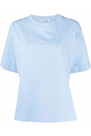 Acne Studios Logo-print short-sleeved T-shirt