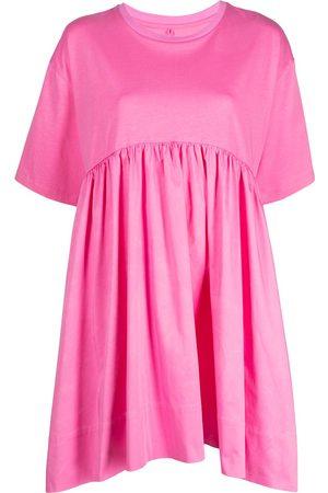 Cynthia Rowley Jersey cotton combo T-shirt dress