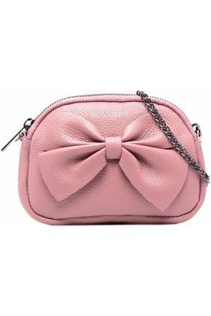 MONNALISA Bow leather bag