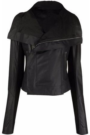 Rick Owens Classic leather biker jacket