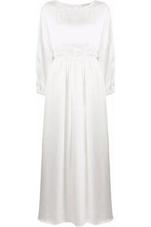 12 STOREEZ Gathered cut-out maxi dress