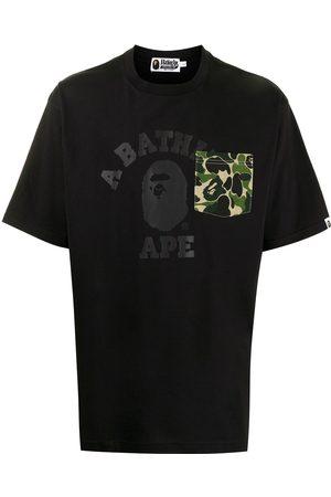 A Bathing Ape Men Short Sleeve - Logo-print short-sleeved T-shirt