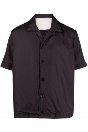 Bottega Veneta Car-print short-sleeved shirt - Grey