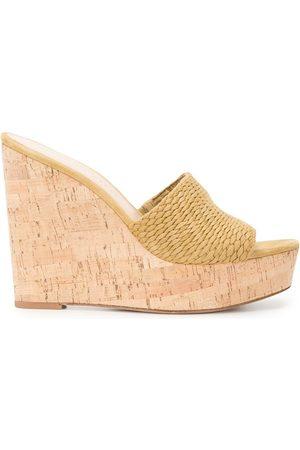 VERONICA BEARD Women Wedges - Dali wedge 120mm sandals