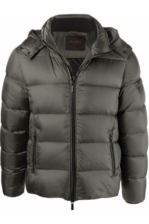 Moorer Men Puffer Jackets - Padded hooded jacket
