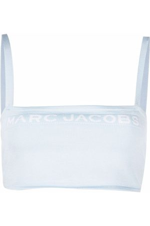 Marc Jacobs Women Strapless Tops - The Bandeau stretch-knit top