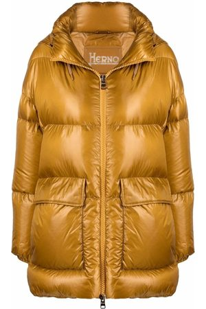 Herno Women Puffer Jackets - Hooded padded coat
