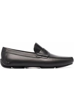 Salvatore Ferragamo Logo plaque driver shoes