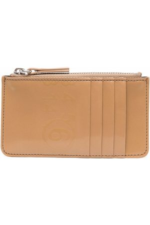 MM6 MAISON MARGIELA Women Wallets - Contrasting-stitch wallet - Neutrals
