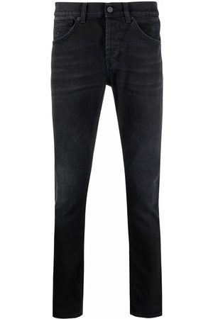Dondup Men Slim - Dark-wash slim-fit jeans
