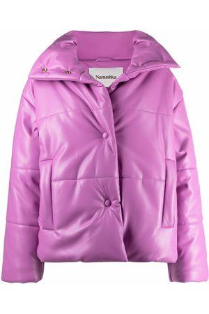Nanushka Women Puffer Jackets - Stand-up collar puffer jacket