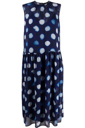 Paul Smith Sleeveless circle motif dress
