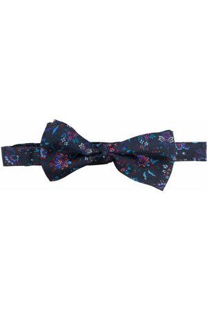 Etro Floral-print bow tie
