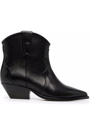 Isabel Marant Women Ankle Boots - Leather ankle cowboy boots
