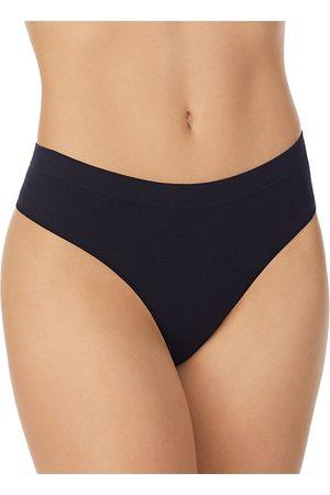 On Gossamer Women Thongs - Cabana Cotton Blend Seamless Thong