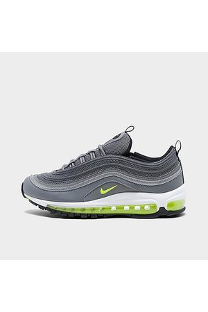 Nike Big Kids' Air Max 97 Casual Shoes in Grey/Smoke Grey Size 4.0 Leather