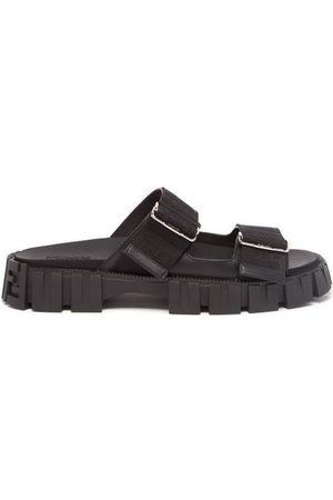 Fendi Ff-monogram Tread-sole Sandals - Mens