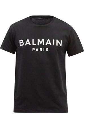 Balmain Men T-shirts - Logo-print Cotton-jersey T-shirt - Mens