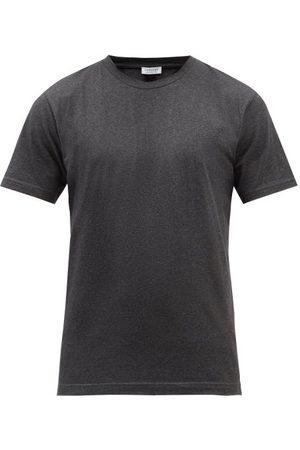 Sunspel Riviera Organic Cotton-jersey T-shirt - Mens - Dark Grey