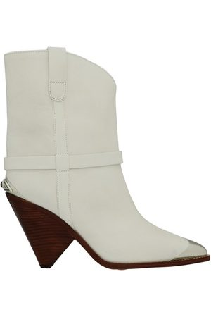 Isabel Marant Women Ankle Boots - Lamsy heeled ankle boots