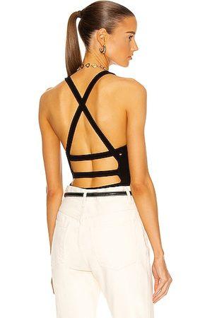 AGOLDE Nova Banded Back Bodysuit in