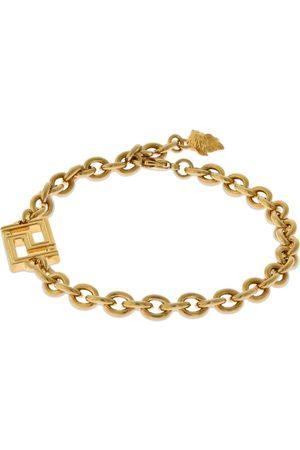 VERSACE Greek Motif Chain Bracelet