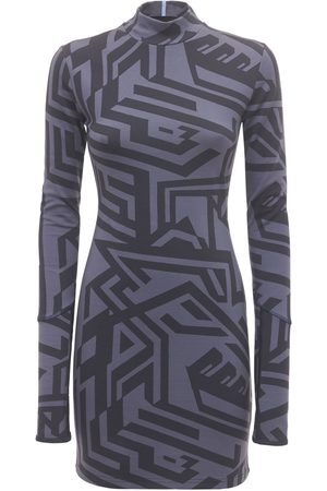 MCQ Dazzele Printed Jersey Mini Dress
