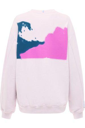 McQ Breathe Relaxed Cotton Sweatshirt