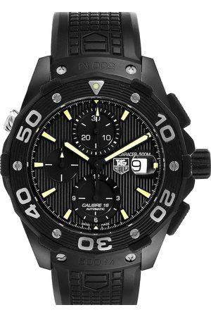 Tag Heuer Titanium PVD Aquaracer Calibre 16 CAJ2180 Men's Wristwatch 44 MM