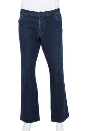 Prada Navy Denim Straight Leg Jeans 3XL